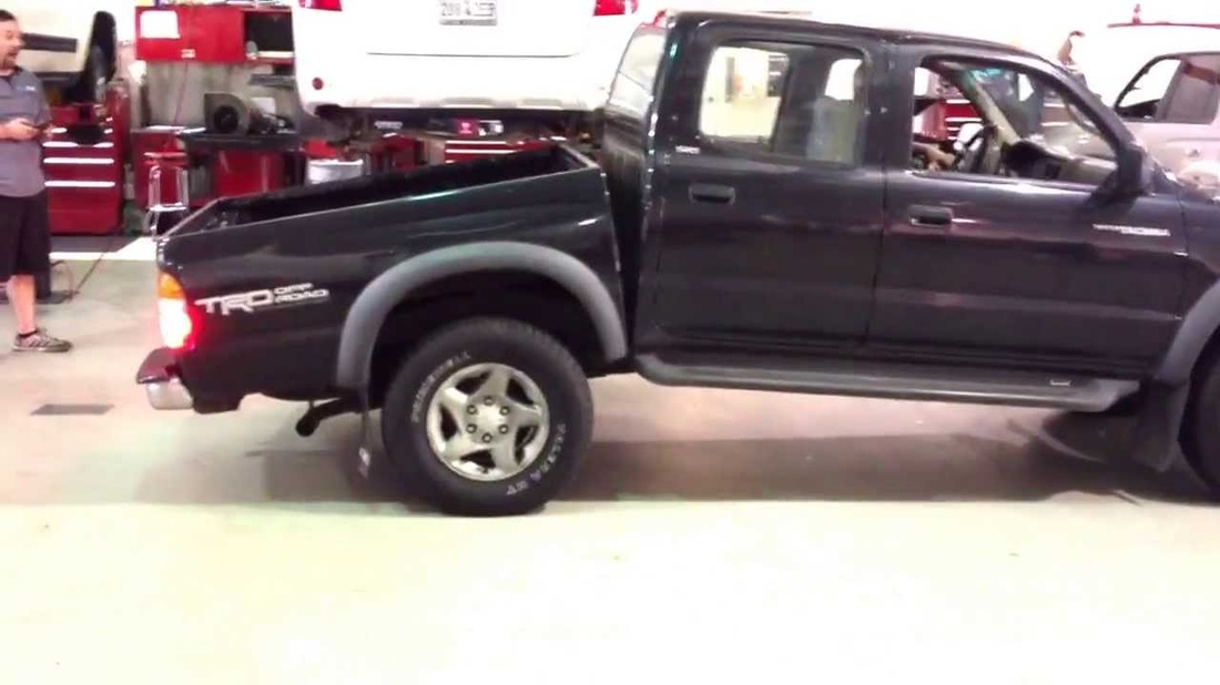 Toyota Tacoma Frame Repair - Bossert Body and Tow